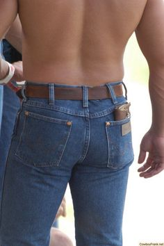 jeans in boy Country butts