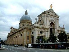 Basilica of Santa Maria degli Angeli, Assissi, Italy