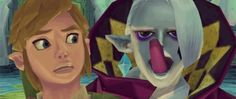 This picture is disturbing yet hilarious, I mean, Link's eyes are looking in different directions! So much derp