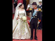 Mary und Kronprinz Frederik von Dänemark (Quelle: Boris Roessler dpa)