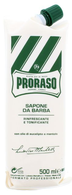 Proraso Professional Shaving Cream Tube, 500ml