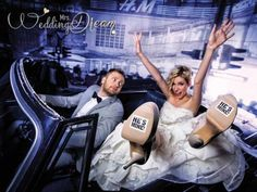 Schuhsticker Hochzeit Braut Bräutigam Accessoire