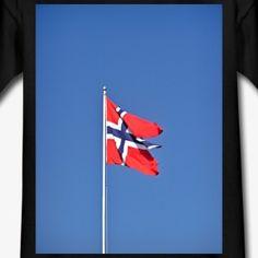 Norwegische Fahne - Kinder T-Shirt