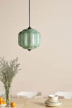 With a milk glass shade and oiled brass hardware, this vintage-inspired pendant brings feminine charm to any space. #dwellshop #anthropologie #anthropologiesale #modernpendantlighting Art Deco Lighting, Home Lighting, Lighting Design, Unique Lighting, Lighting Ideas, Summer Deco, Art Deco Pendant Light, Pendant Lamps, Vintage Pendant Lighting