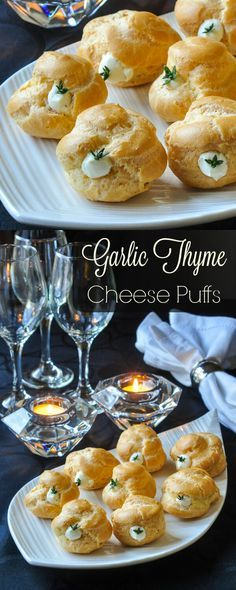 Choux pastry cheese puffs need not be intimidating. Find the best tips for perfect puffs and a versatile, creamy cheese filling with roasted garlic & thyme.