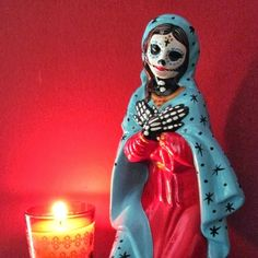 Thrift store Mary's have a whole new meaning for me!!! - Bellas artesanias mexicanas de catrinas