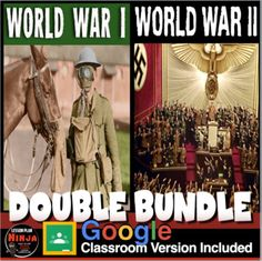 World War I and World War II Units (World History) Bundle, two units in one, covers the atmosphere in Europe leading up the the assassination of Archduke Franz Ferdinand, World War I, World War II and finishes with the Nuremberg Trials and the U.S. occupation of Japan. This unit is a combination of ... 7th Grade Social Studies, Teaching Social Studies, Teaching History, History Lesson Plans, World History Lessons, War Of Attrition, Nuremberg Trials, Map Activities, Archduke