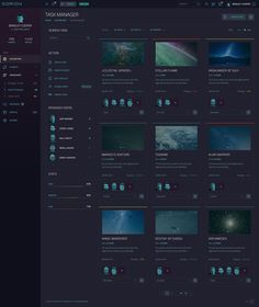 ORION – Sci-Fi Dashboard by laaqiq on @creativemarket
