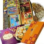 Diwali gourmet collection available for India delivery. Secured online door step gifts delivery to India on your Chosen date. See more gifts : www.giftbasketstoindia.com/gifts/diwali-gift-basket.html