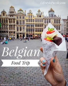 Belgian Food Trip - Top Dishes to try in Belgium and great places to eat in Brussels, Ghent and Brugge