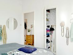 Charming Scandinavian Apartment Deco Bedroom And Closet