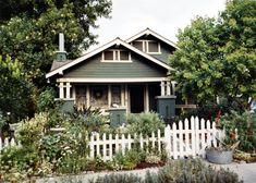 1921 Craftsman bungalow, South Center Street, Orange, California, 2003