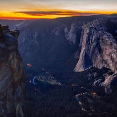 Jared on IG ''Me on Taft Point by Renan Ozturk. If you look close you can see me standing on the edge. Instagram And Snapchat, Instagram Posts, Taft Point, Heaven On Earth, Jared Leto, Nature Photos, Landscape Photography, National Parks, Adventure