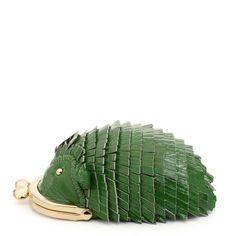 Every one needs a green hedgehog purse?! Well, Not everyone... but I do :)