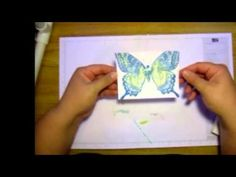 Stamping with alcohol inks - YouTube