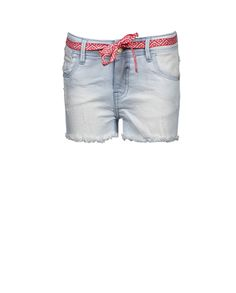 Indian Blue Jeans - Girls S/S '16 - Style code: IBG16-6011 Style name:Blue Nova Shorts Color no.:150+161 Color:Light Denim + Repaired