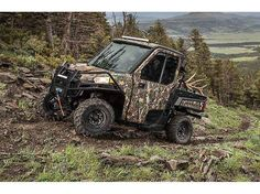 New 2016 Polaris Ranger XP® 570 ATVs For Sale in Kentucky. Polaris Pursuit Camo Work From Sun Up to Sun Down in Comfort for 3 Powerful 46 HP ProStar® EFI engine Plush Suspension Travel and Refined Cab Comfort, Including Lock & Ride Pro-Fit Accessory Integration