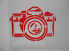 Schablone Fotoapparat auf A4