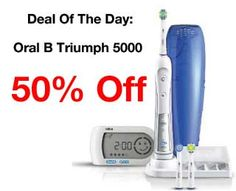 Toothbrush Test: Oral B Triumph 5000 Review