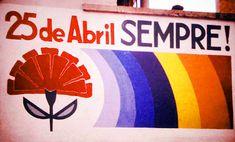 Feliz Dia 25 De Abril by _alexandre_teixeira_ Revolution, Freedom Day, Military Coup, Carnations, Book Publishing, Teamwork, History, Blog, Lisbon Portugal