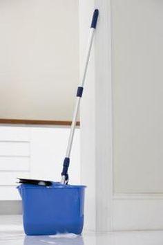 Jupiterimages/Polka Dot/Getty Images - how to keep painted wood floors clean