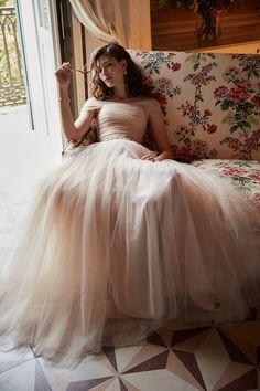 Italian romance | Ramona Gown from BHLDN