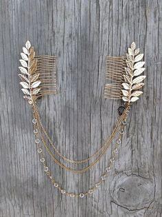Boho chain hair accessory
