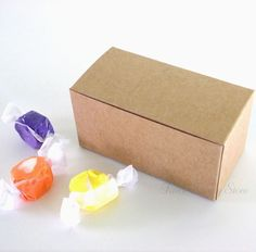 Gift Boxes 102380: Kraft Party Favor Gift Treat Candy Boxes 4X2x2 -> BUY IT NOW ONLY: $41 on eBay!