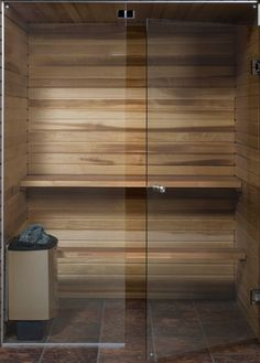 All Glass Sauna Door - Home Decorating Ideas