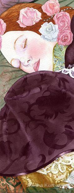 Masha Kurbatova watercolor