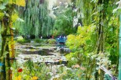 Claude Monet preset in Dynamic Auto Painter