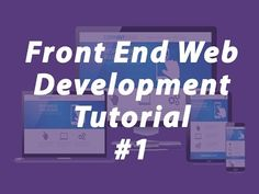 Front End Web Development Tutorial Part-1 (PSD TO HTML Developed)