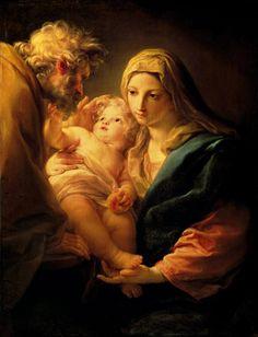 Pompeo Girolamo Batoni - Die Hl. Familie. Ca