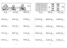 FICHAS PARA NIÑOS: FICHAS DE DIVISIONES PARA IMPRIMIR GRATIS Math Exercises, Homeschool, Math Equations, Education, Maths, Google, Kiwi, Professor, Gabriel