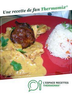 Blancs de poulet sauce chorizo par MARIEBEL. Une recette de fan à retrouver dans la catégorie Viandes sur www.espace-recettes.fr, de Thermomix®.