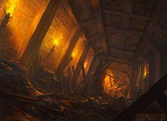 Creating a Dungeon by noahbradley.deviantart.com on @deviantART
