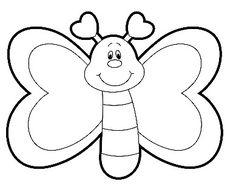 25 Mejores Imagenes De Moldes De Mariposas Crafts Butterflies Y