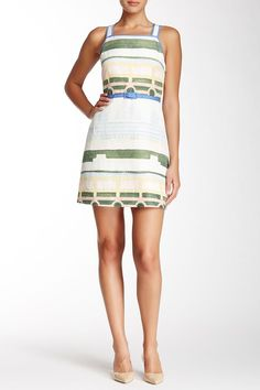 Love the neutral tones of this beautiful Tory Burch dress [Promotional Pin]