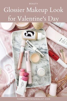 For the makeup minimalist: a cute, easy, simple Valentine's Day makeup look Day Makeup Looks, Makeup Is Life, Beauty Makeup, Eye Makeup, Best Beauty Tips, Beauty Hacks, Glossier Girl, Glossier Cloud Paint, Valentines Day Makeup