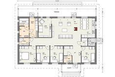 Bungalow, Future House, House Plans, Sweet Home, Floor Plans, How To Plan, Case, Architecture, Building