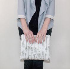 Bones IPad Case  IPad Case IPad 2 case IPad Air by DBIllustrations, £19.00  #ipadcover #ipadmini #ipad #sewing #handmade #illustration #surfacedesign #etsy