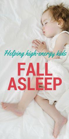 Four tips for helping high-energy kids fall asleep!