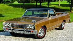 1967 Chevrolet El Camino.