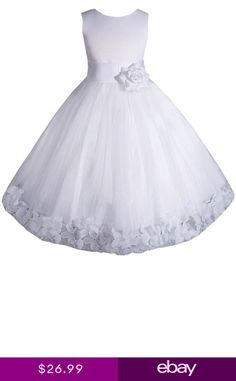 b6bb77f865c41 New Sizes 2 to 16 Flower Girl Communion Pageant Easter Wedding Dress E1008. Filles  Robes ...