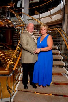 Royal Caribbean Cruise to Labadee, Haiti, Samana, Dominican Republic, St. Thomas Virgin Islands, St. John, U.S. Virgin Islands, St. Kitts and Nevis Islands. Al and Joann on formal dinner night.             I LOVE TO CRUISES WITH YOU