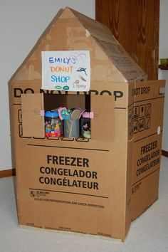 232 Best Cardboard Box Crafts images in 2012 | Cardboard box