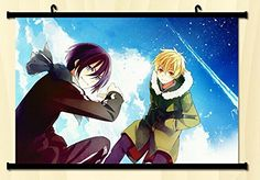 Home Decor Anime Hot Noragami Yato Cosplay Wall Scroll Poster Fabric Painting 23.6 X 17.7 Inches-C04 Noragami http://www.amazon.com/dp/B00L33QKSO/ref=cm_sw_r_pi_dp_du66vb01CCMZQ