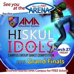 This is it! The ultimate #AMAhiskulidols2015 dance showdown we've been waiting for. See you tommorrow for the most awaited and star-studded Grand Finals! #AMAidolsFinalsMoaArena