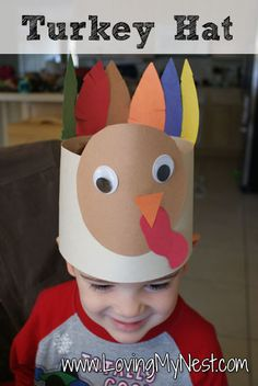 Turkey Hat - Loving My Nest