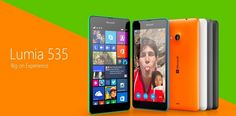 Microsoft Lumia 535 Smartphone with a 5MP Front Facing Camera